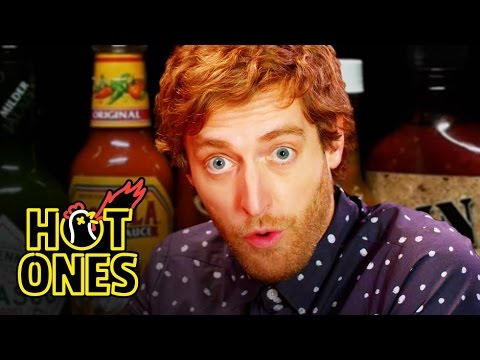 Thomas Middleditch Does Improv While Eating Spicy Wings  Hot Ones