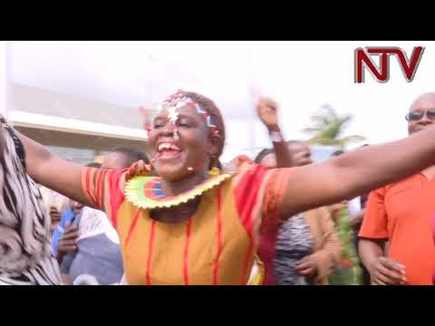 Uganda's Commonwealth team returns home to a heroes welcome