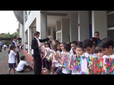 La Grande Lessive au Salvador, lycée français Antoine et Consuelo de Saint-Exupéry