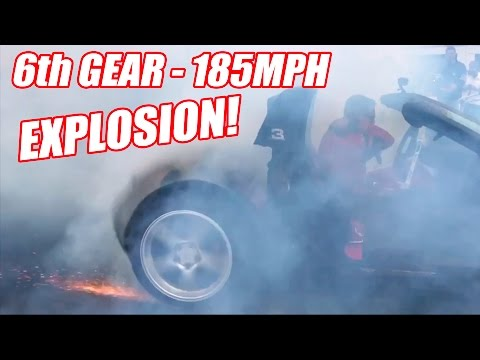 6th Gear Burnout Has INSANE Tire Explosion!