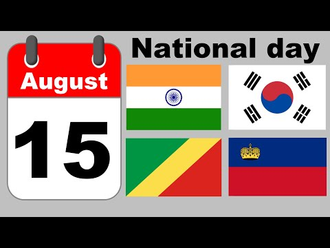 National Day of Each Country
