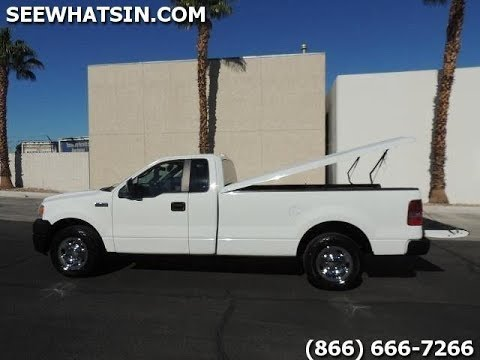 2007 Ford F150 36k Miles Tonneau Cover 8 Ft Bed 2wd Auto New Tires Youtube