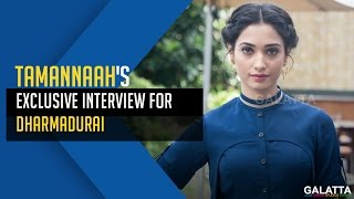 Tamannaah's Exclusive Interview For DharmaDurai | Galatta Exclusive