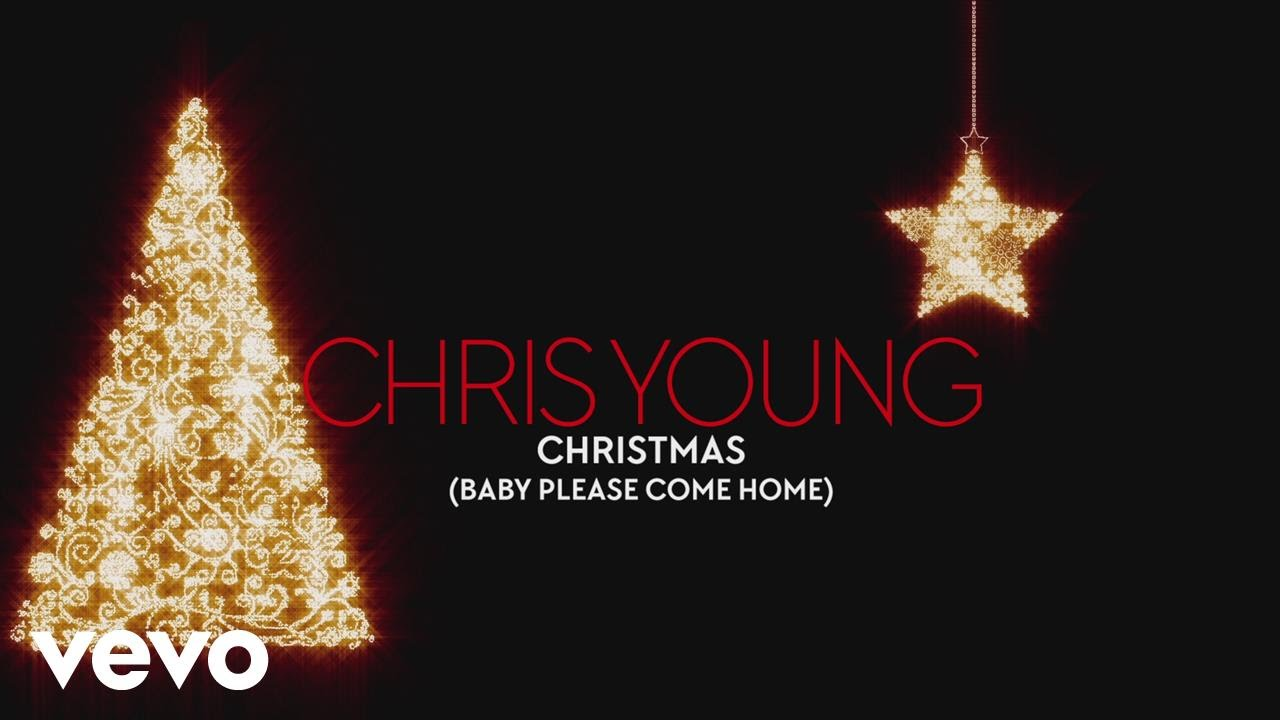 chris young christmas baby please come home audio