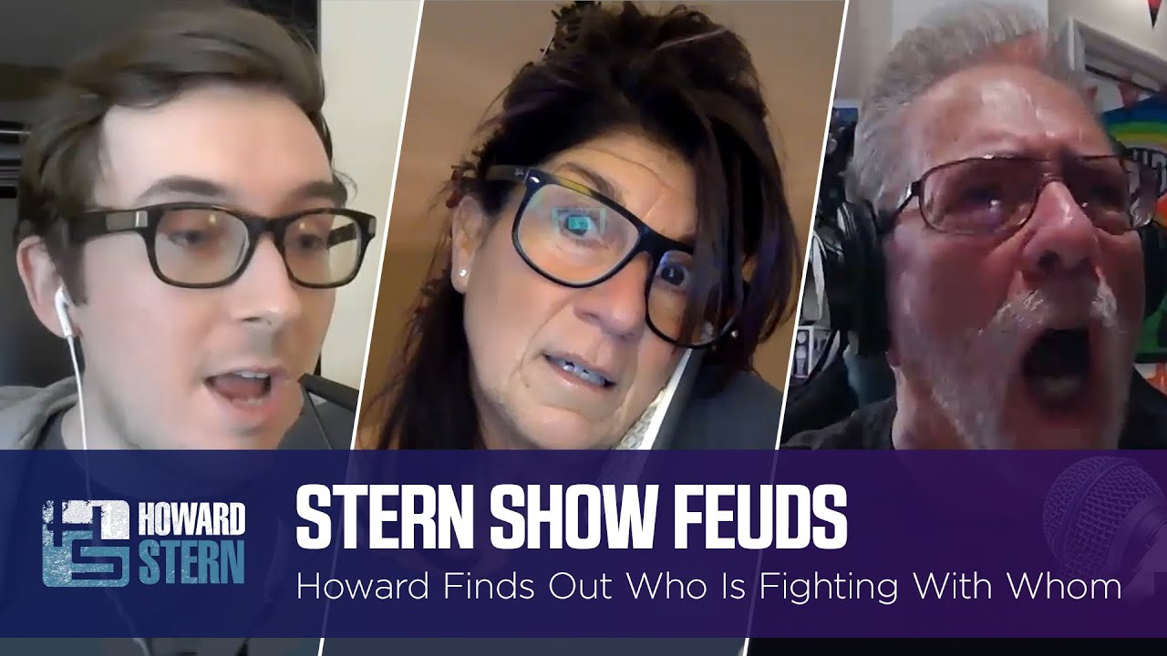 Howard Uncovers the Many Feuds Going on at the Stern Show Right Now