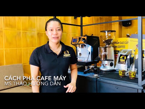 Cách pha cà phê máy ngon | Lyon Coffee 18009450