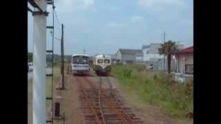 鹿島鉄道廃止後の鉾田駅