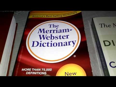 The Merriam Webster Dictionary REVIEW