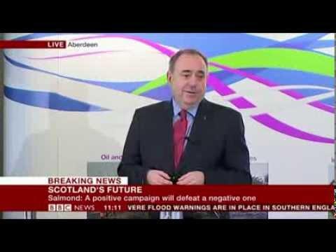 Alex Salmond  at Aberdeen  17 Feb 2014
