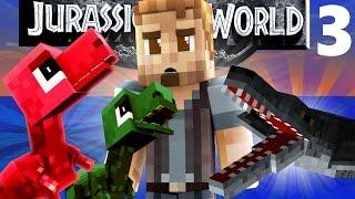 Minecraft Jurassic World #3: A SICK LIOPLUERODON! (Minecraft Roleplay)