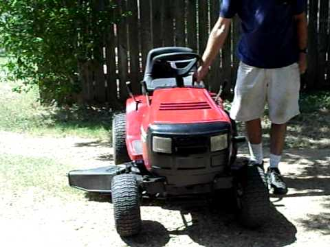 hqdefault murray wide body riding mower 12 5 hp 40\