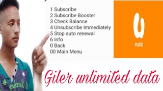 How to stop auto renewal giler unlimited data on umobile