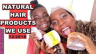 Natural Hair Products Empties December 2018 Empties