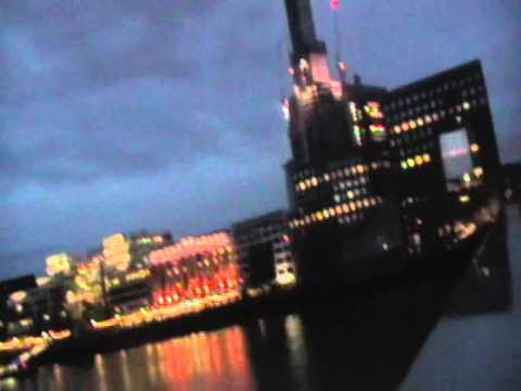Walk Across London Bridge at Night