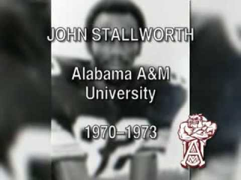 JOHN STALLWORTH, Black College Football Hall of Fame