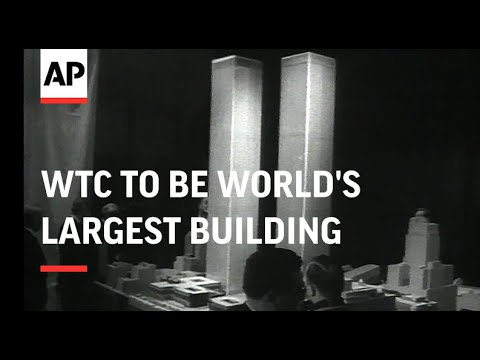Plans For World Trade Center To Be World's Largest Building, Work Progressing On The World Trade Cen