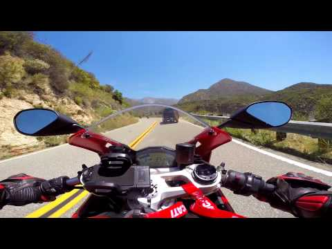 Ducati 899 Panigale Canyon Ride First Person View