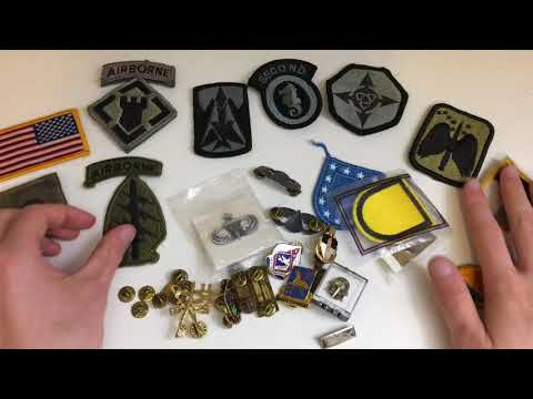 ARMY PATCH AND INSIGNIA HAUL