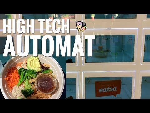 Eatsa High Tech Automat: A New Vegetarian Fast Casual Concept