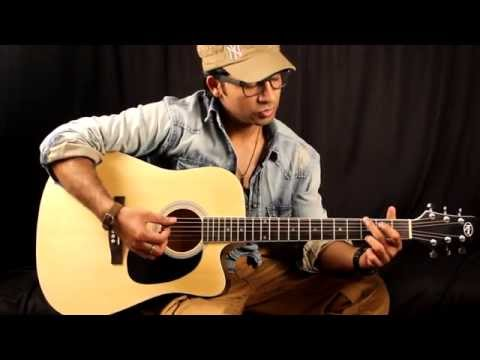 Happy birthday Guitar Chords Lesson In Hindi for beginners