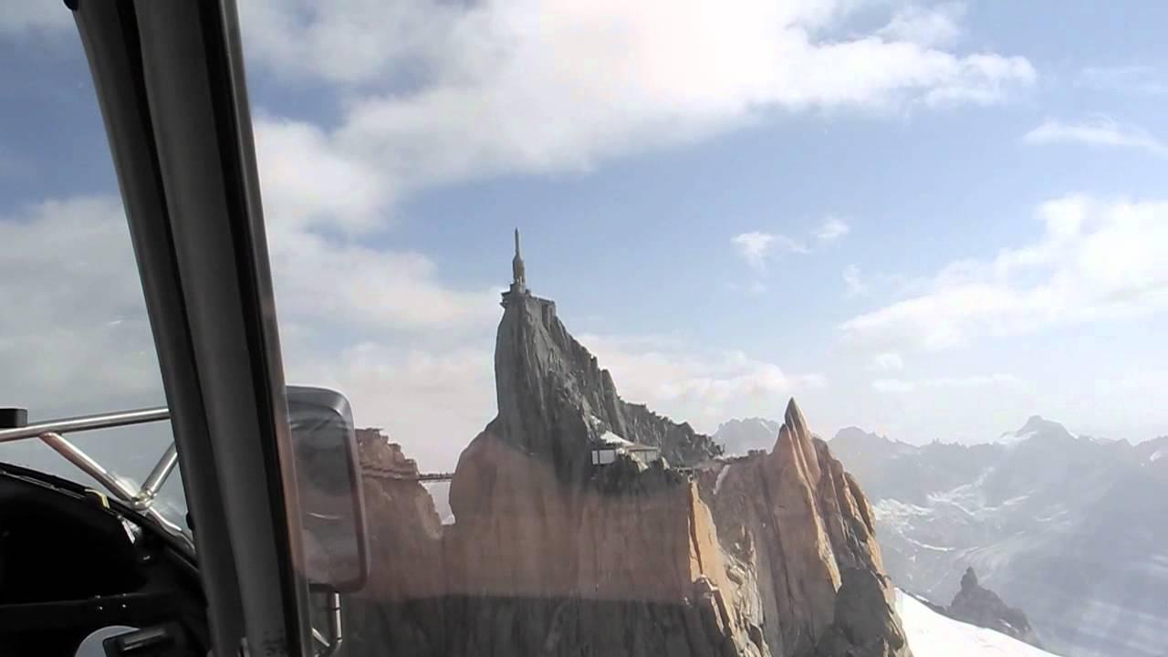 Elicottero Monte Bianco : Monte bianco in elicottero youtube