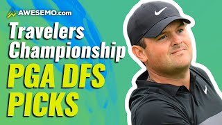 THE PGA DFS STRATEGY SHOW: FANTASY GOLF PICKS FOR TRAVELERS CHAMPIONSHIP | DRAFTKINGS + FANDUEL