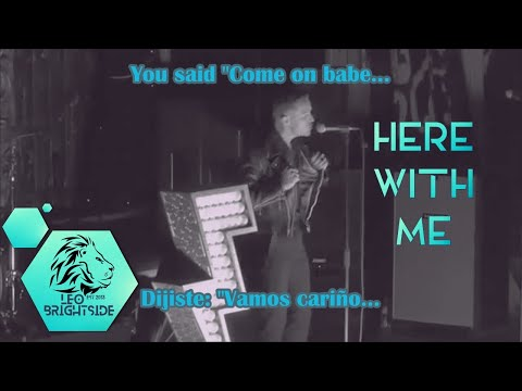 The Killers-Here With Me (Subtítulos/Lyrics)