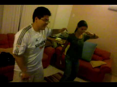 Mike Maluco e Betty Boop dancando no Wii!