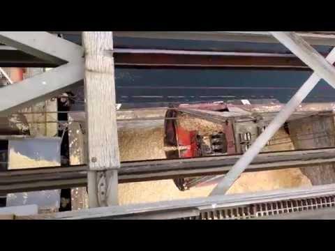 Chip Barge Unloading