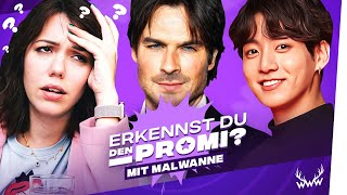 Erkennst DU den Promi? (mit Malwanne)