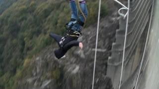 """Angerfist Bungee Jump """"007 Goldeneye Stunt - Verzasca Dam - Switzerland"""""""