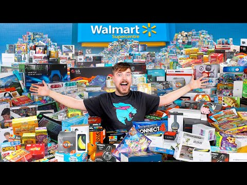 I Bought Everything In 5 Stores - MrBeast
