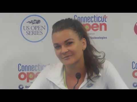 Agnieszka Radwanska talks about her charitable work