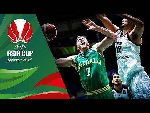 HIGHLIGHTS: Australia vs. Japan (VIDEO) FIBA Asia Cup 2017 | August 8