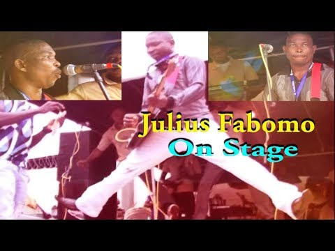 julius fabomo on stage
