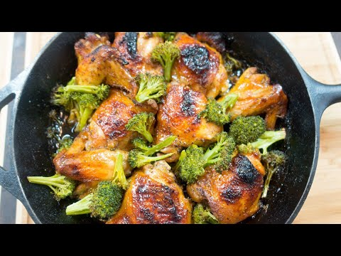 Baked Chicken And Broccoli Simple Recipe