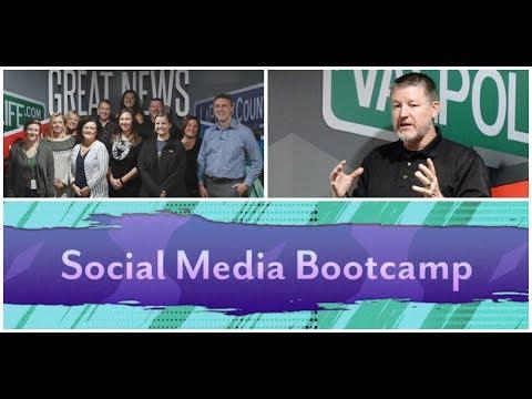 Social Media Bootcamp with Chris Mahlmann
