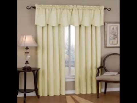 Eclipse Canova Thermaback Blackout Window Scallop Valance Curtains With You