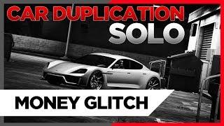 GTA 5 *SOLO* CAR DUPLICATION GLITCH - BRAND NEW - UNLIMITED MONEY!!!