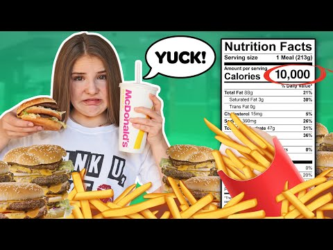 Letting The Person In FRONT Of Me DECIDE What I Eat For 24 HOURS Challenge! 🍔  Piper Rockelle