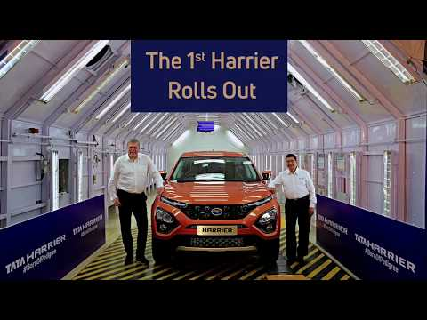 Tata Harrier : Most premium SUV by TATA motors yet! First production video released from TATA motors