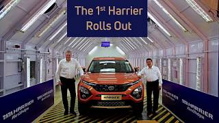 Tata Harrier First Car Roll out