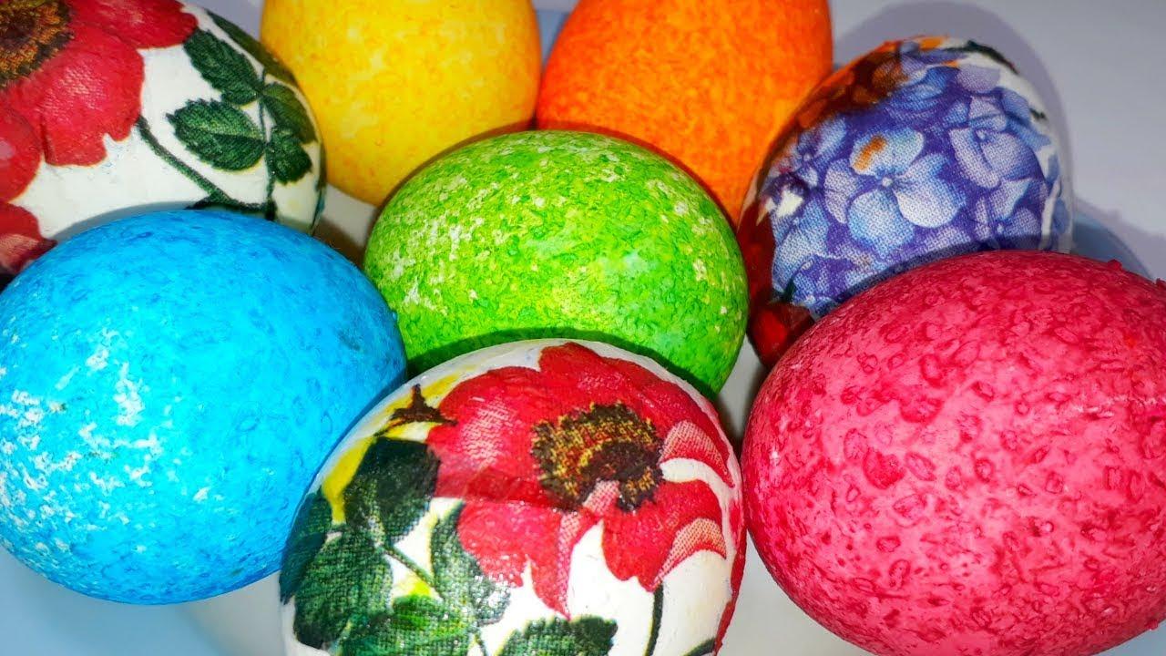 Яйца на Пасху. Как красиво покрасить яйца на Пасху ...