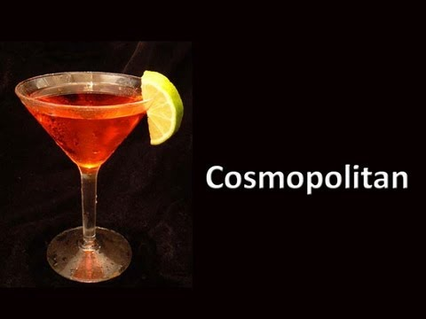 Cosmopolitan cocktail  Cosmopolitan Cocktail Drink Recipe - YouTube