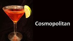 Cosmopolitan Cocktail Drink Recipe