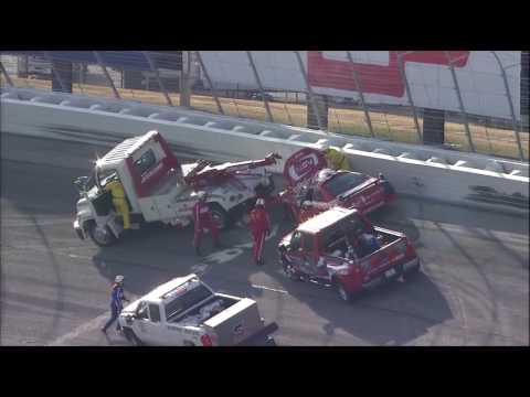 2010 NASCAR Atlanta Carl Edwards vs Brad Keselowski (Part 1)