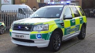 UK Specialist Ambulance Service Land Rover Freelander 2 Team Leader Vehicle - Blue Light Demo(, 2014-10-31T21:35:18.000Z)