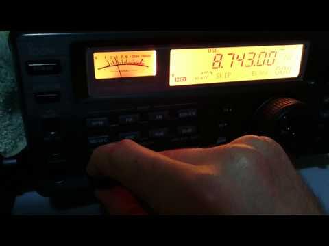 Bangkok Meteorological Radio - 8743 kHz - Bangkok/Thailand