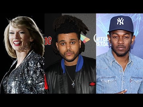2016 Grammy Award Nominations Announced- Taylor Swift, Kendrick Lamar, The Weeknd