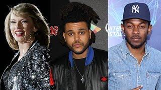 2016 Grammy Award Nominations Announced- Taylor Swift, Kendrick Lamar, The Weeknd